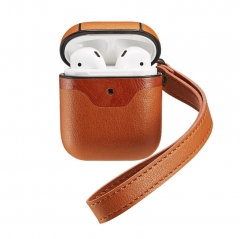 Superior Leather Airpods Case with Mutil-colors丨iPhone Airpods First and Second Generation Universal