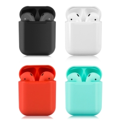 i12 TWS Bluetooth Airpods with Stable Quality | Auto Power on and pairing | Bluetooth 5.0丨Support Touch with Siri丨multiple Colors