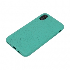 Eco-Friendly Wheat Straw Biodegradable Soft Flexible TPU Mobile Phone Cover Case丨For iPhone/Samsung/Huawei 丨25% wheat +75% TPU