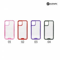 Anti-Shock Colourful combo Phone case 丨 PC + TPU 2 in one