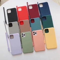 2.5mm Lanyard Liquid TPU Anti-dirty Phone Case丨We are Manufacturer