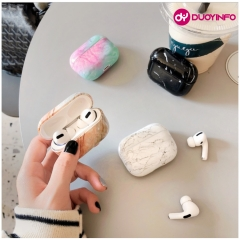 Glossy Marble Granite Pattern Airpods (Pro) Case Protector | B2B Wholesale