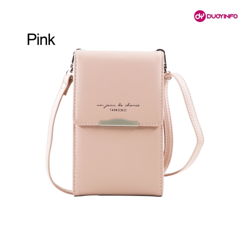 Korean vVrsion of Vertical Cross-Body Fashion Mini Phone Bag丨One Shoulder Mobile Wallet for Women