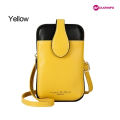 Trend Hit Color Women Niche Fashion Ladies Shoulder Mobile Phone Bag丨INS Diagonal Cross Women Bags