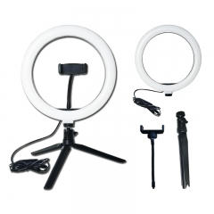 10 Inch Mobile Live LED Ring Light 26cm with phone Mounting for photography, Mak...
