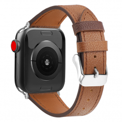 Luxury  First Layer Leather Wristband iwatch Leather Strap for Apple Watch3/4/5th generation