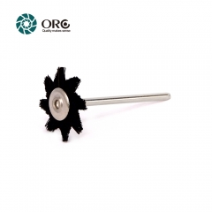 Miniature Brush-Anise Star Brush-Black Bristle