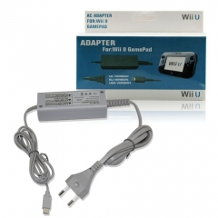 EU Plug Power Ac Adapter Power Cord For WII U Gamepad