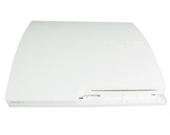 PS3 Slim Console full shell( white)