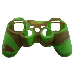 PS3 Controller Silicon case green+coffee color