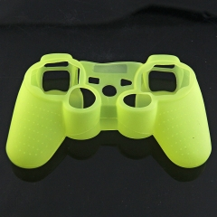 For PS3 Controller Silicon case light yellow