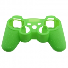 For PS3 Controller Silicon case Grass green