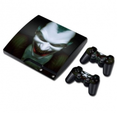 PS3 slim Console Protective Sticker Cover Skin Controller Skin Sticker 05