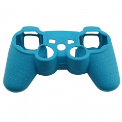 For PS3 Controller Silicon case Peacock blue