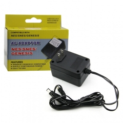NES/SNES/GENES 3 in 1 AC Adaptor US Plug Color box