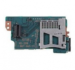 PSP1000 MS-299 Memory Stick Slot/WiFi Board