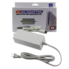 Wii AC Adapter US Plug Gray