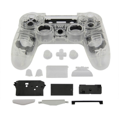 Transparent PS4 controller full housing shell case mod kit
