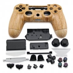 PS4 Controller Full Case Wood grain