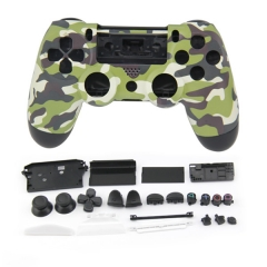 PS4 Controller Full Case Set Camouflage