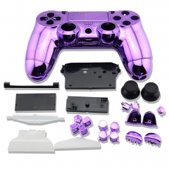 electroplate Case for PS4 Controller Purple