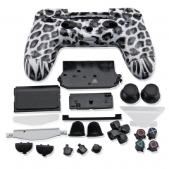 PS4 Controller Full Case leopard print