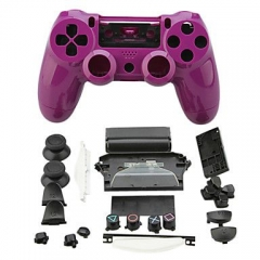 PS4 Controller Full Case Purple