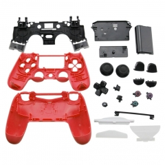 PS4 joypad full shell Red