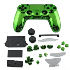 Replacement Case for PS4 Controller electroplate green
