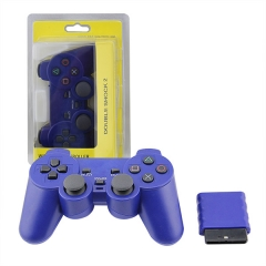 Wireless Controller For PS2 -Blue