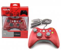 USB wired Controller-Red Color