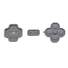 Buttons Conductive D-Pad Rubber for NEW 3DS 4-Piece Set (Original)