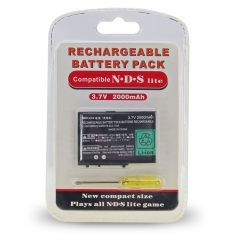 NDS Lite 2000Mah Reachargeable Battery