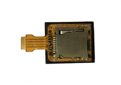 Micro TF Memory Card Socket Connetor Flex Cable for NEW 3DS XL (Pulled)
