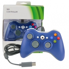 Xbox 360 Wired Controller (blue)