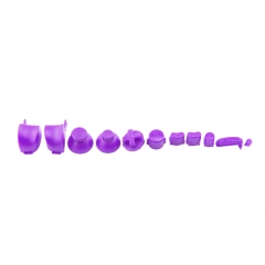 NGC Controller Button Kit-purple Color