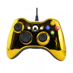 XBOX 360 WIRED CONTROLLER -Electroplated yellow