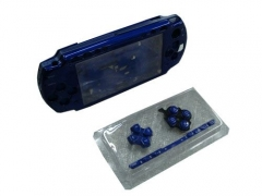 Housing For PSP2000 Console Shell(clear blue)