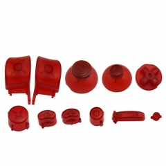 NGC Controller Button Kit-Transparent Red