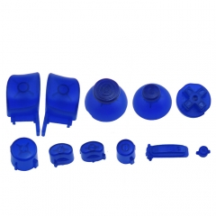 NGC Controller Button Kit-Transparent Blue