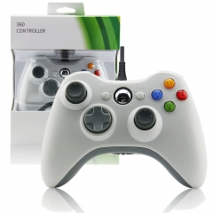 Xbox 360 Wired Controller (white)
