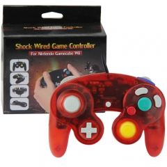 NGC Wired Controller (Crystal red)