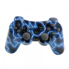 PS3 Wireless Controller NEW blue camouflage pp bag