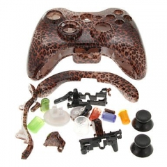 Leopard Print Housing Case for Xbox 360 Controller