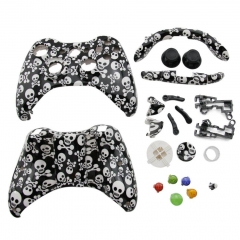 Skull Pattern Housing Case for Xbox 360 Controller