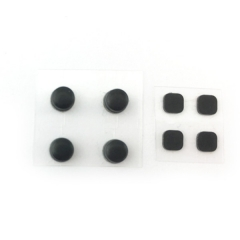 Original Rubber Nubs Screw Covers Set Replacement Parts for NEW 3DS XL