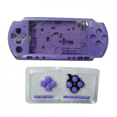 Purple Housing Faceplate Case Cover for PSP 3000 Console Replacement Housing Shell Case