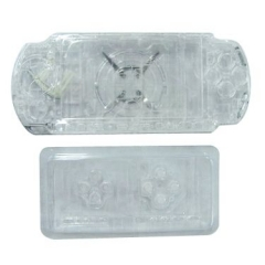 Transparent Housing Faceplate Case Cover for PSP 3000 Console Replacement Housing Shell Case