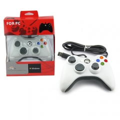 USB wired Controller-white Color