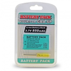 Battery pack 850mAh for GBA SP